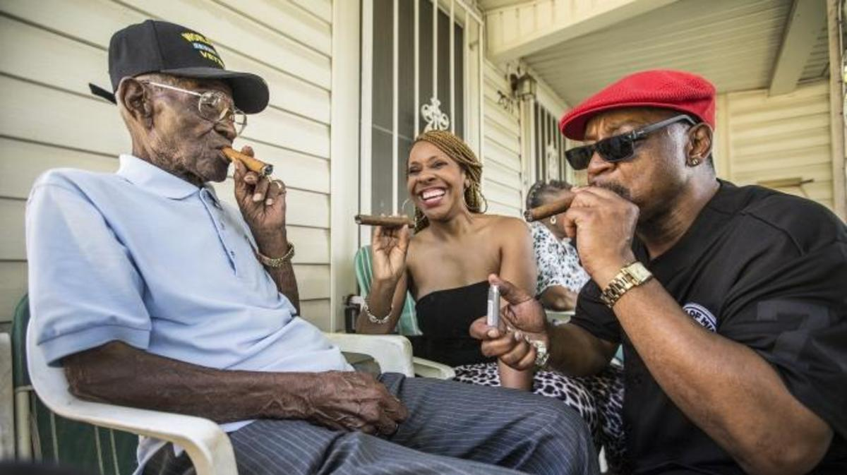 Veteran Richard Overton