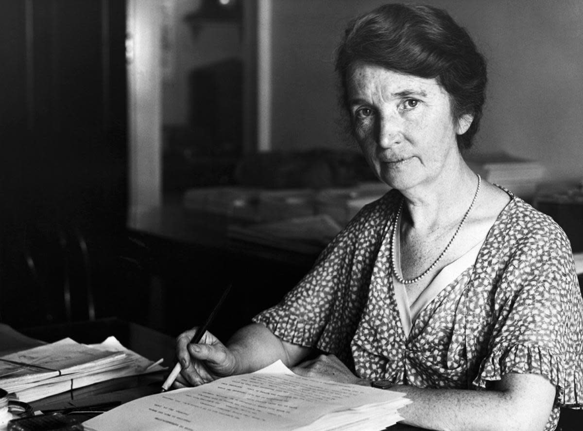 An undated photo of Margaret Sanger (1883-1966). (Credit: Bettmann Archive/Getty Images)