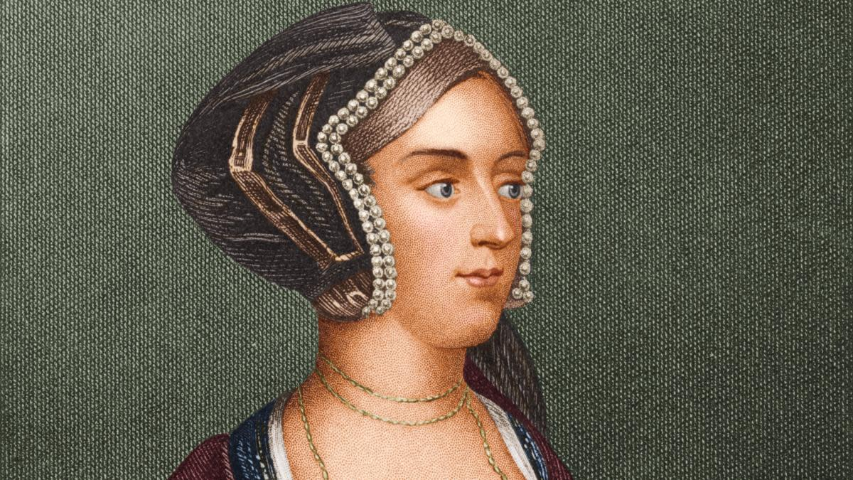 Anne Boleyn (1507 - 1536). (Credit: Stock Montage/Getty Images)
