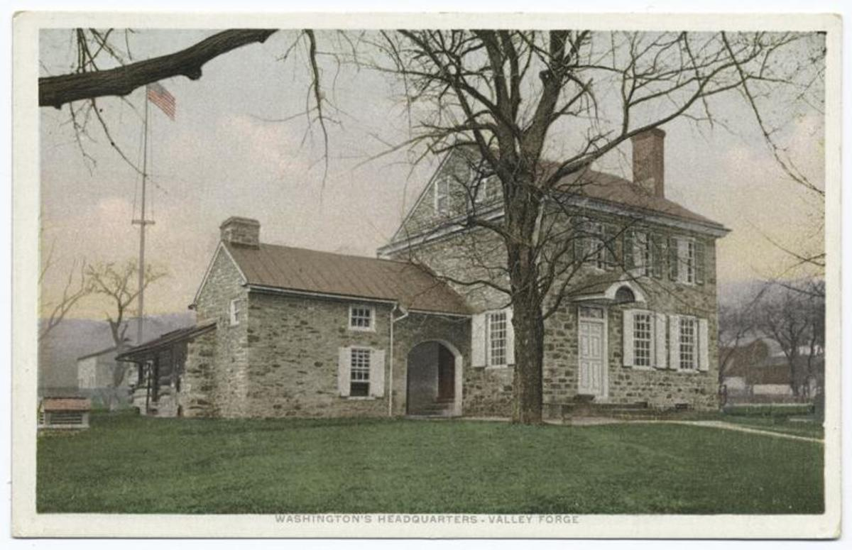 Washington's Headquarters in Valley Forge. (Credit: The New York Public Library)