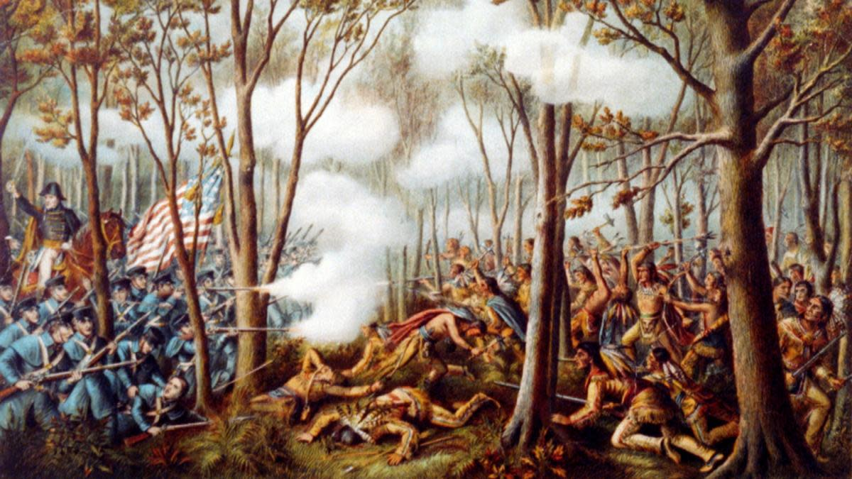 Battle of Tippecanoe, 1811. (Credit: Universal History Archive/Getty Images)