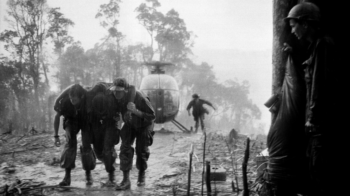 Hamburger Hill Evacuation