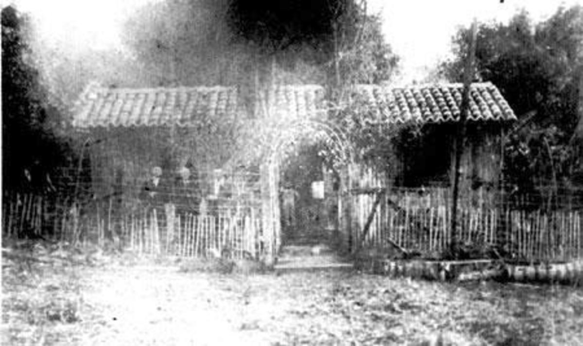 The house of the Norris family, the first American confederate family in Brazil. (Credit: Public Domain)