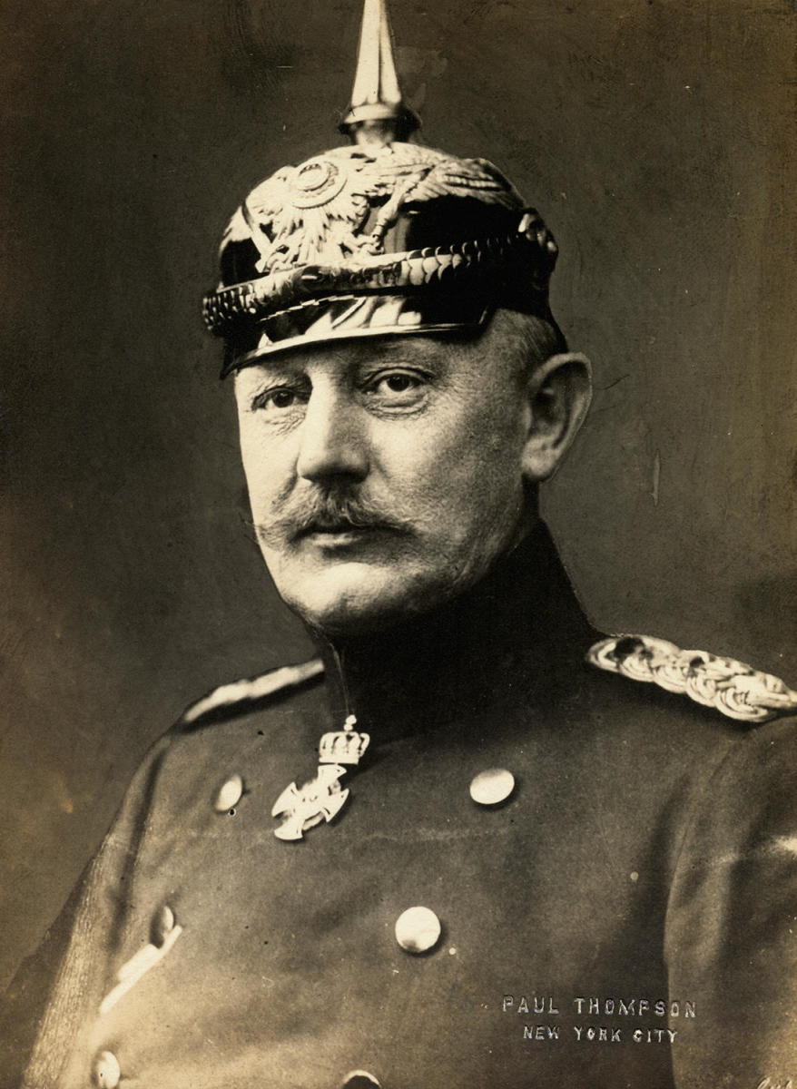 Helmuth Johannes Ludwig Von Moltke, Director of German strategy of World War I. (Credit: Bettmann Archive/Getty Images)
