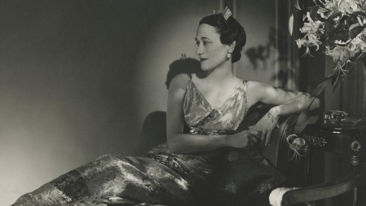 The Duchess of Windsor, Wallis Simpson. (Credit: Horst P. Horst/Condé Nast via Getty Images)