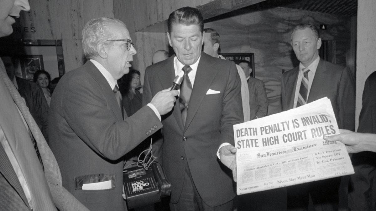 Ronald Reagan and the Death Penalty