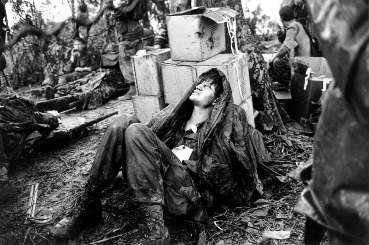 Wounded Soldier Hamburger Hill