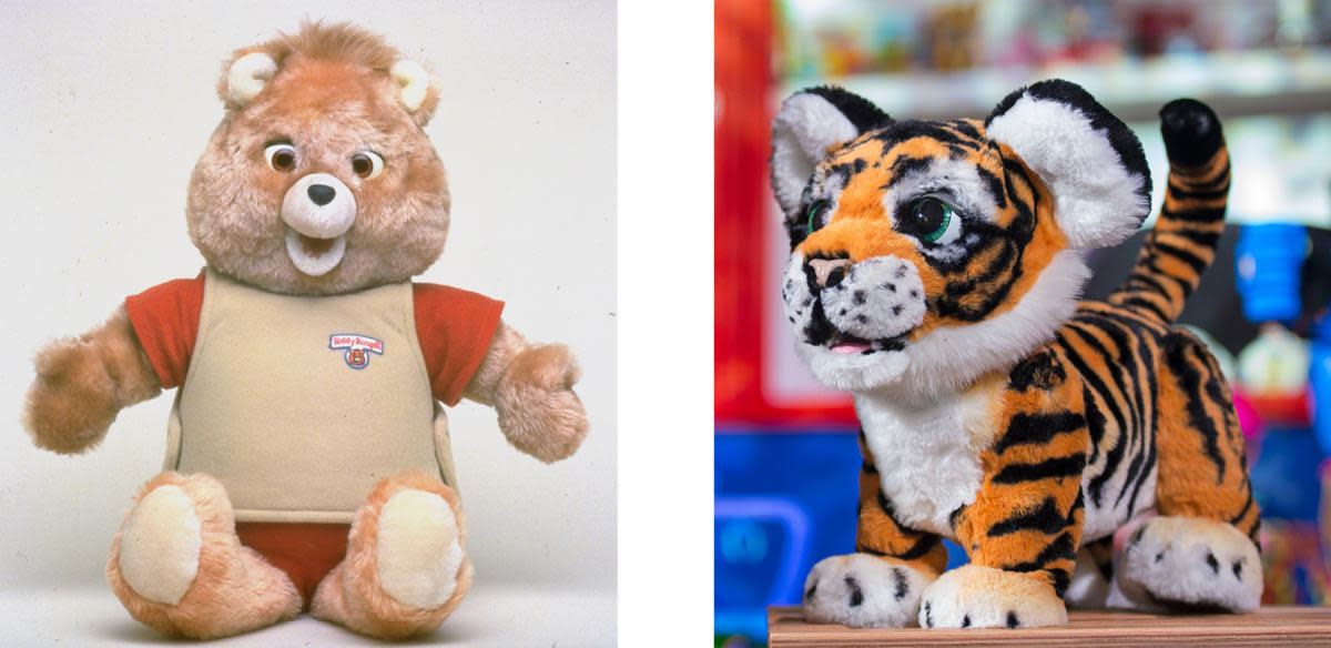 Teddy Ruxpin and Roarin' Tyler