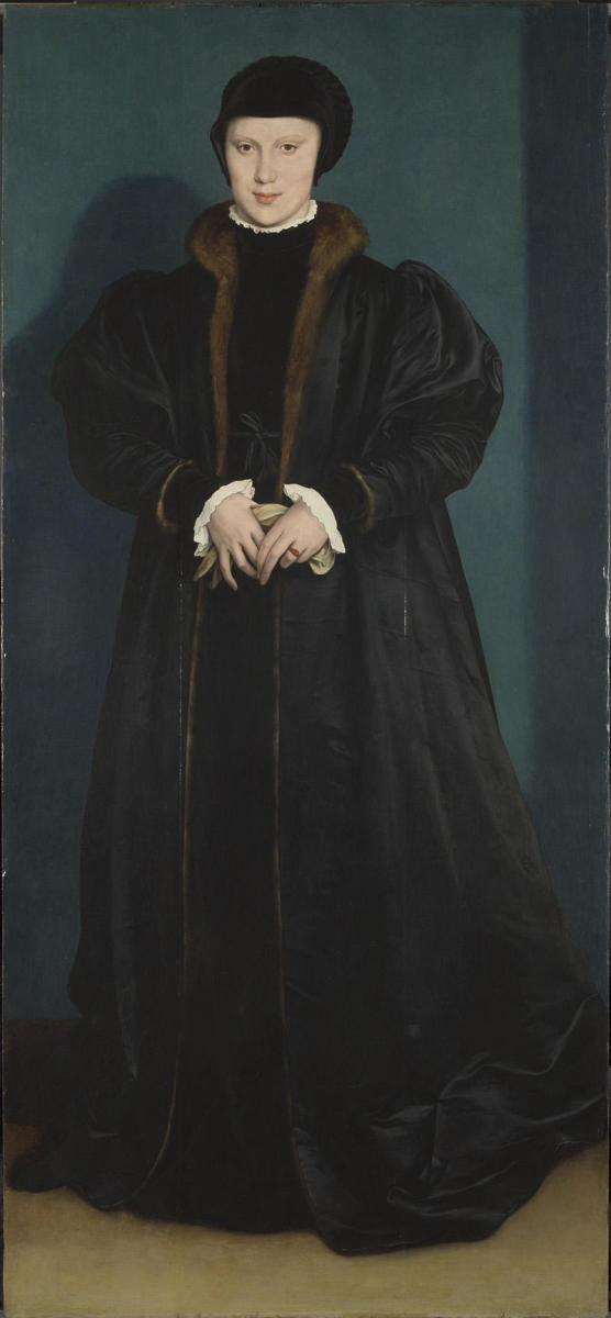 Christina of Denmark, painted by Hans Holbein. (Credit: The National Gallery, London)