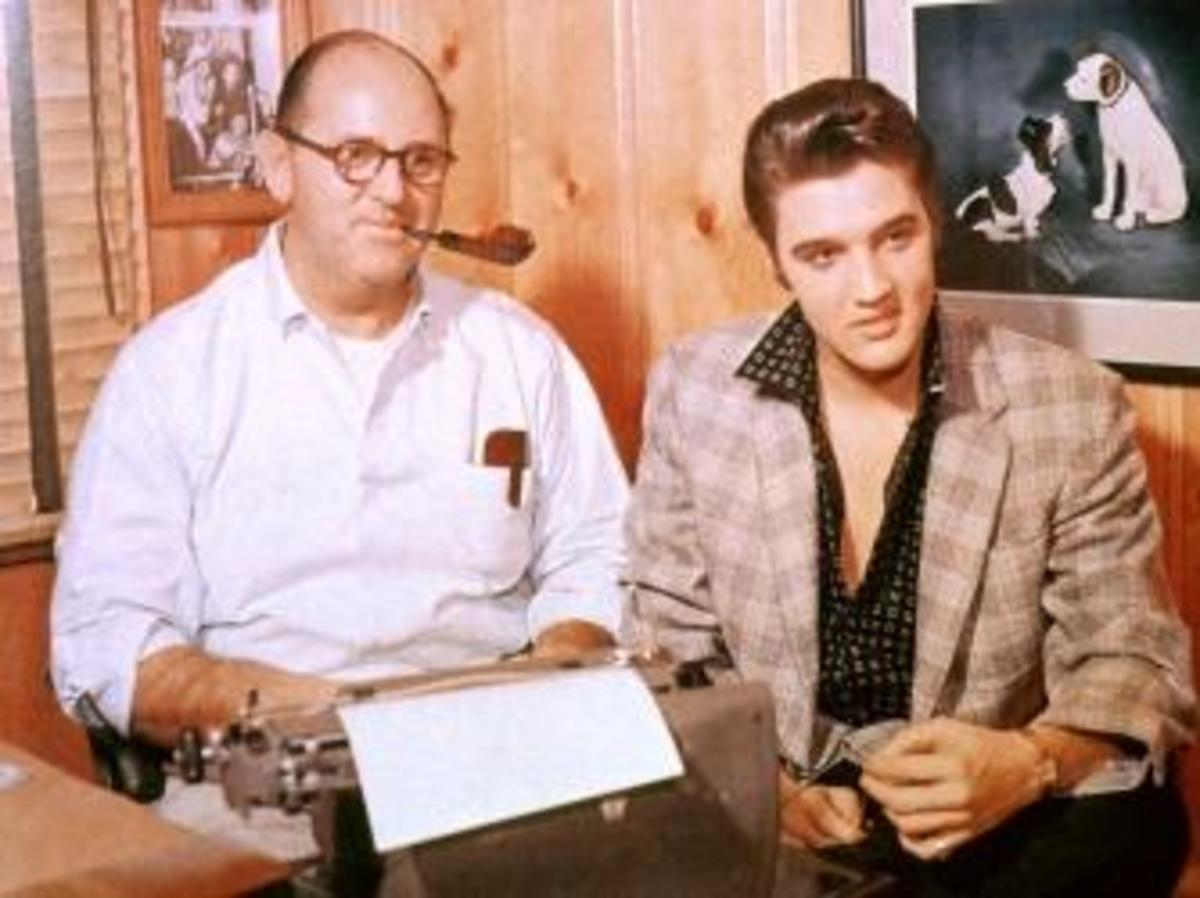 elvis and tom parker
