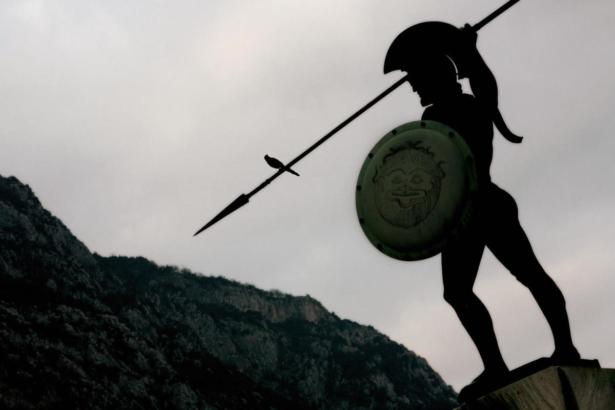 life of a spartan male