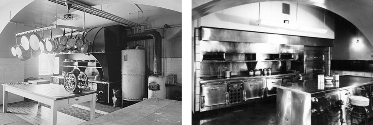 White House Kitchen Renovation 1930s
