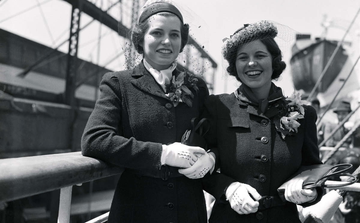 Eunice and Rosemary Kennedy