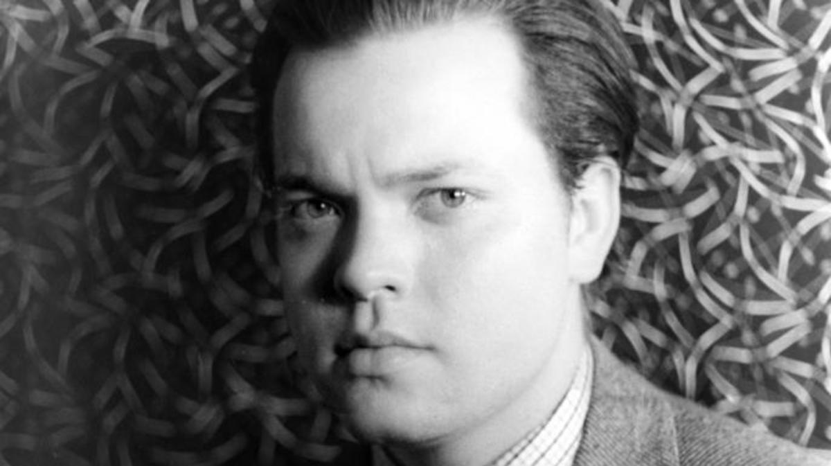 Orson Welles in 1937.