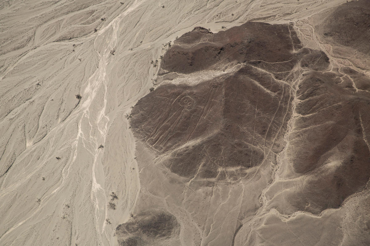 Newly discovered Nazca Lines in southern Peru.