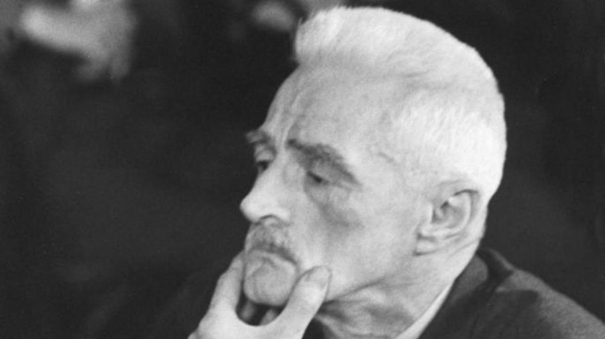 Dashiell Hammett at 1953 Senate hearing. (Credit: Hank Walker/The LIFE Picture Collection/Getty Images)