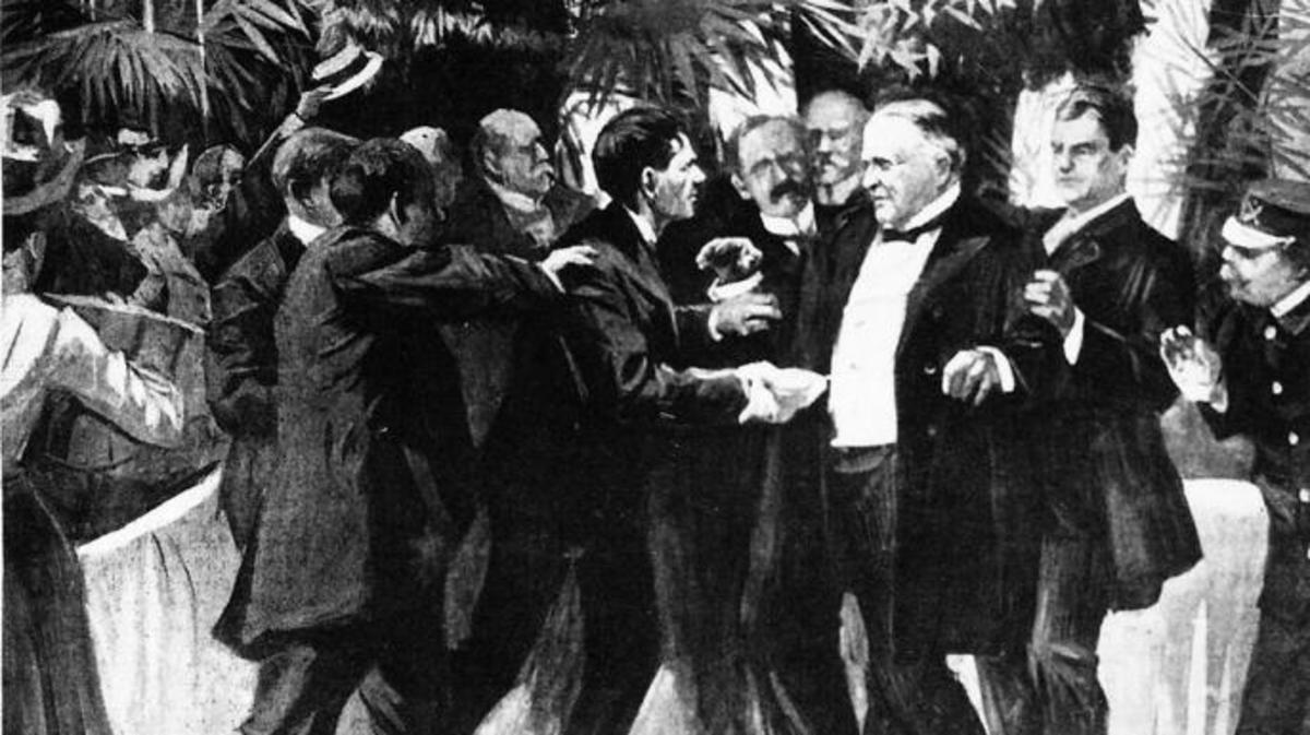 William McKinley and Leon Czolgosz