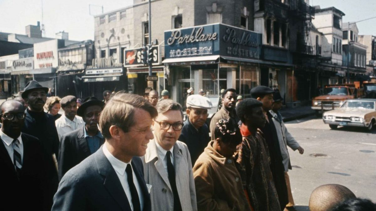Robert F. Kennedy MLK Riots