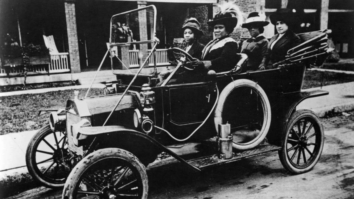 Self-made millionaire Sarah Breedlove, better known as Madam C.J. Walker. (Credit: Smith Collection/Gado/Getty Images)