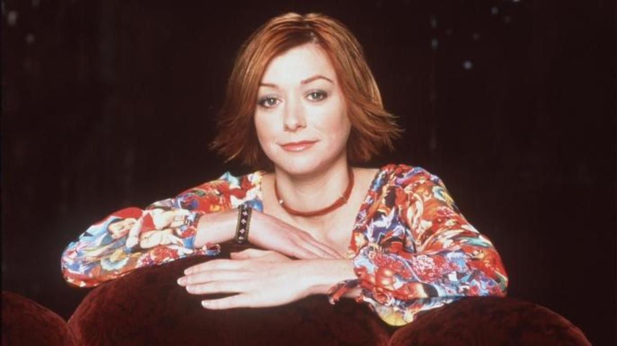 Alyson Hannigan as Willow Rosenberg. (Credit: Online USA)