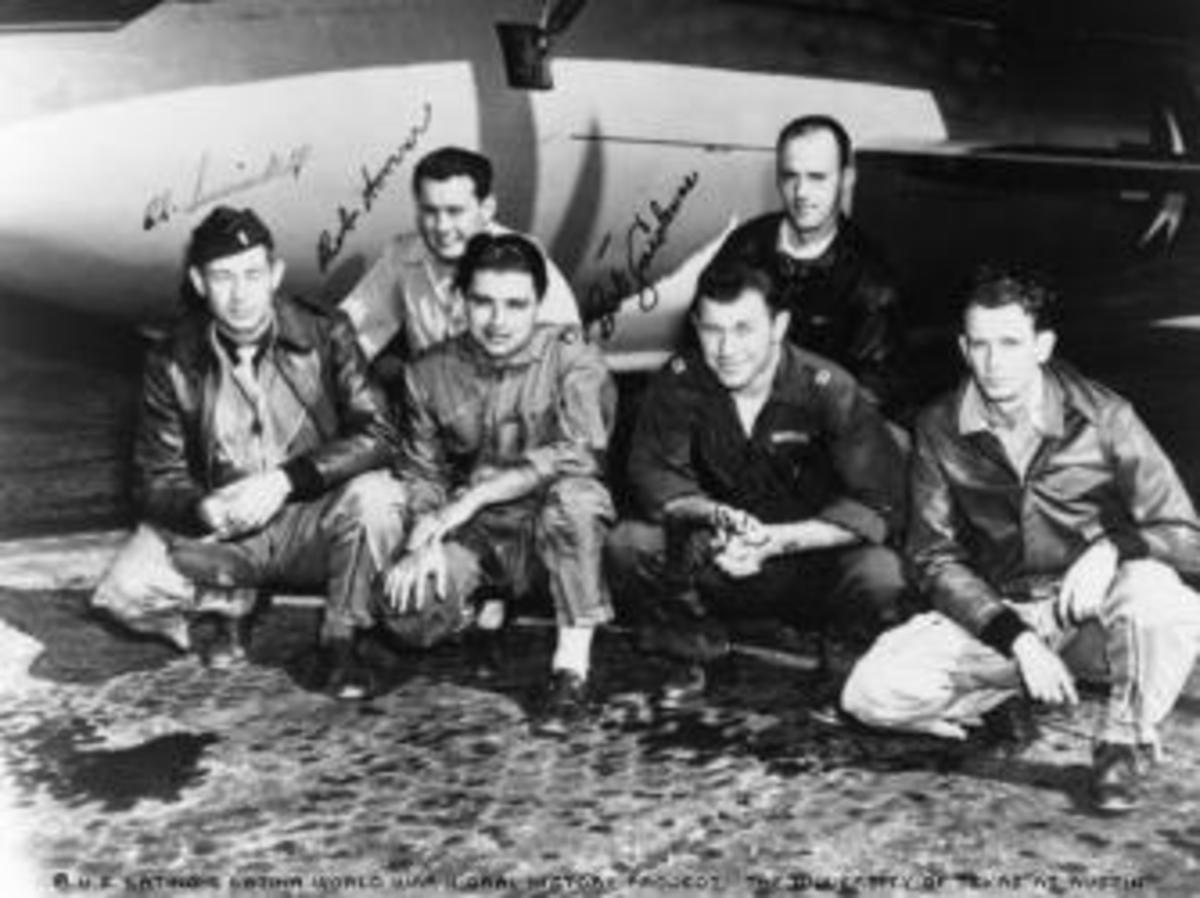 The X-1 team that would break the sound barrier.