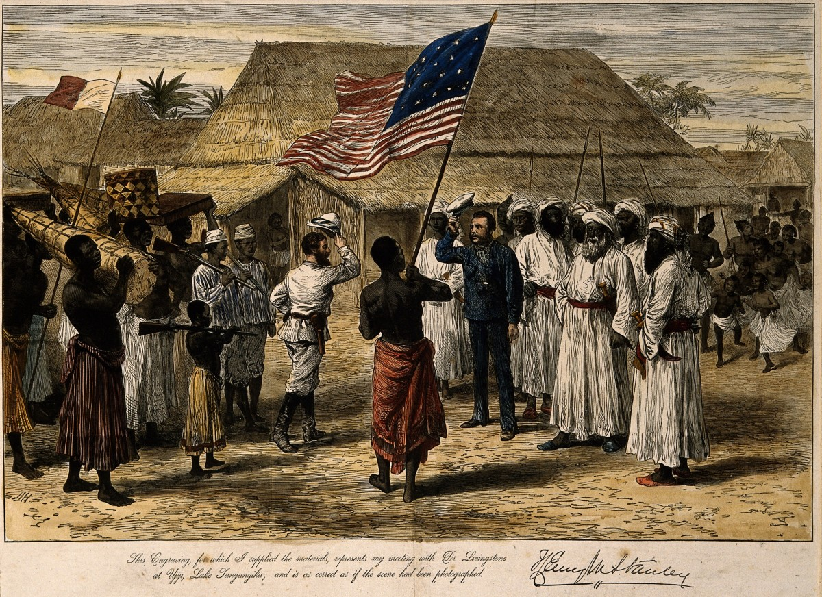 Image result for This was long after his first journey into Africa, as a journalist for an American newspaper in 1871