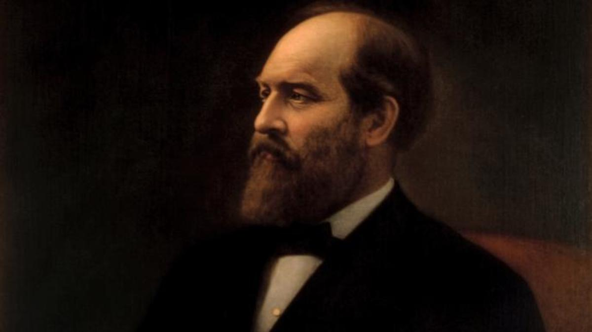 White House portrait of James A. Garfield