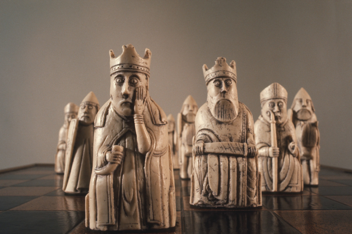 The Enduring Mystery of the Lewis Chessmen - HISTORY