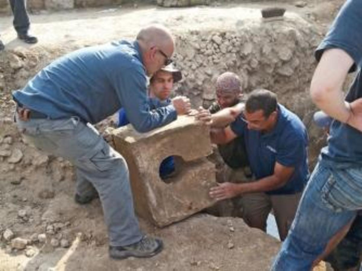 Toilet removed from the gate shrine. (Credit: Igor Kramerman)