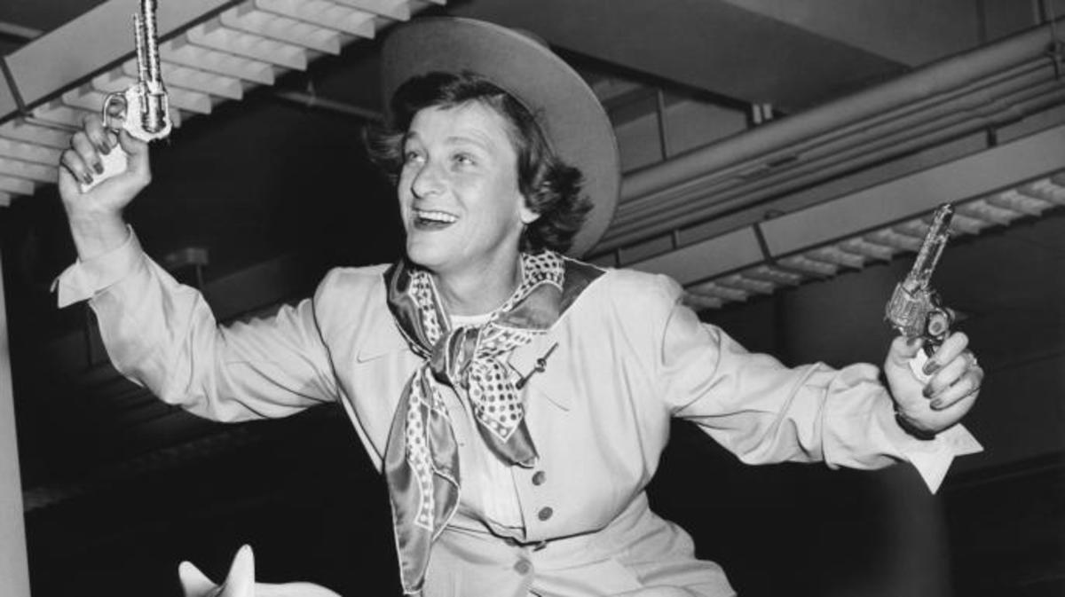 "Athlete ""Babe"" Didrikson Zaharias. (Credit: Underwood Archives/Getty Images)"