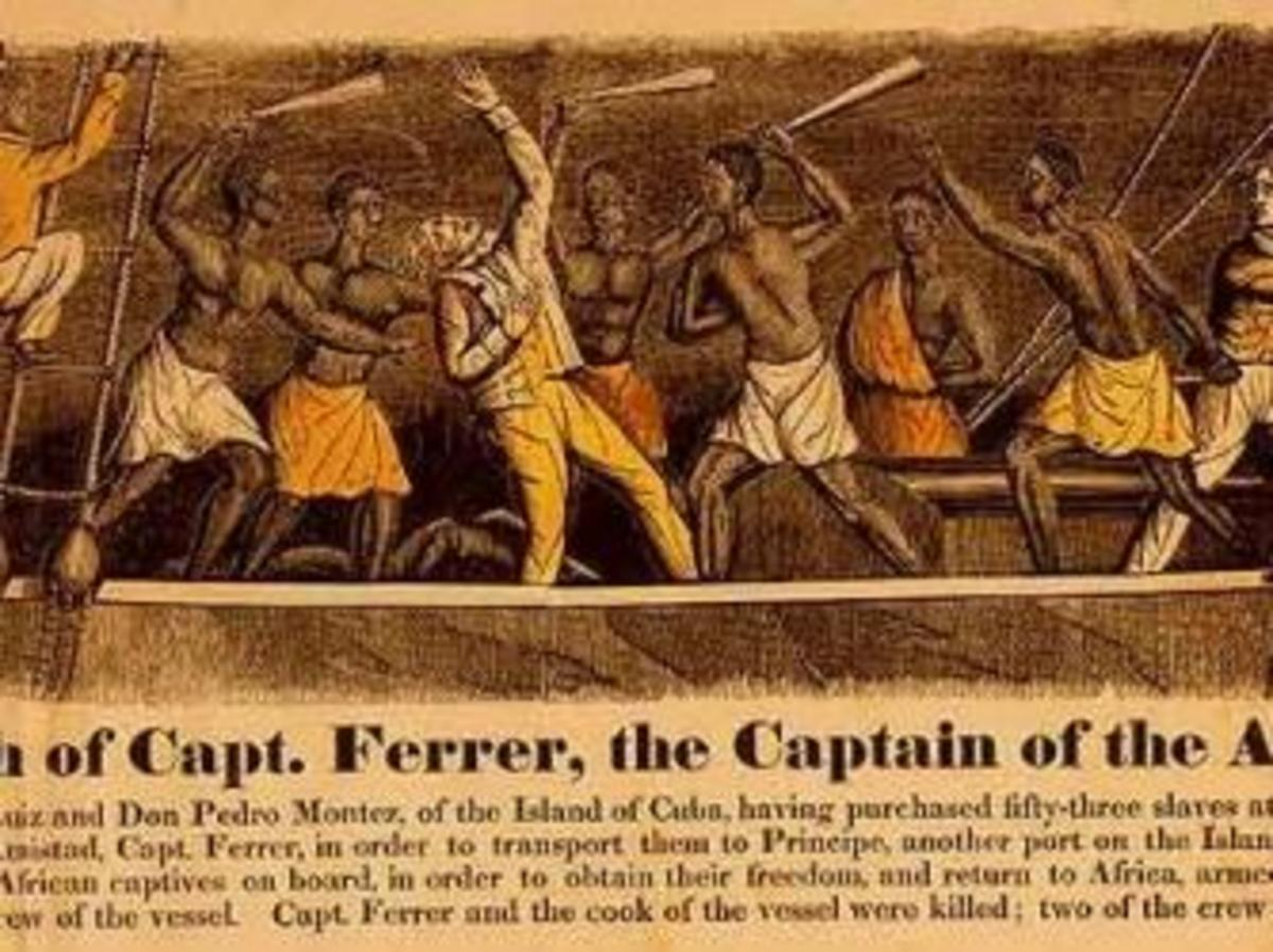 News account of the Amistad revolt