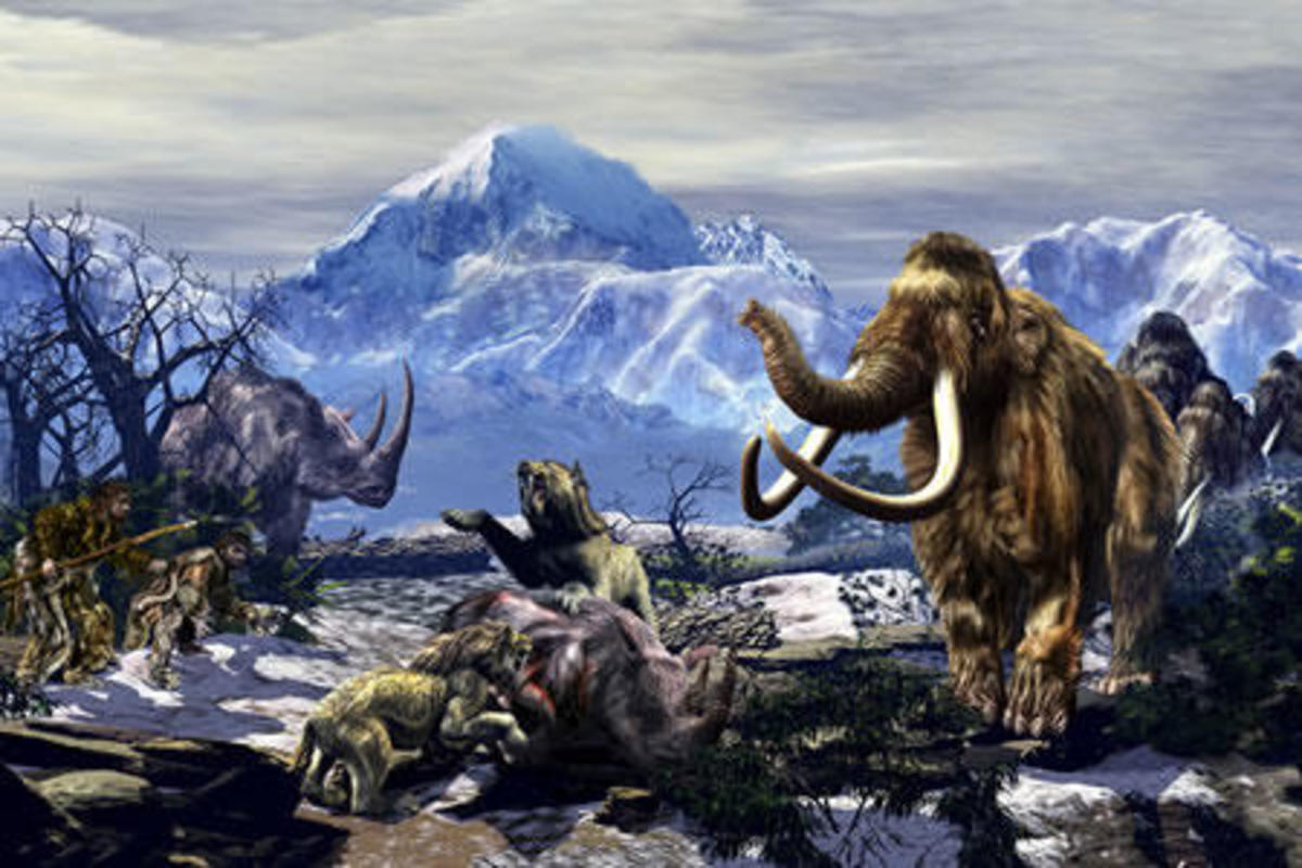 ice age, wooly mammoth