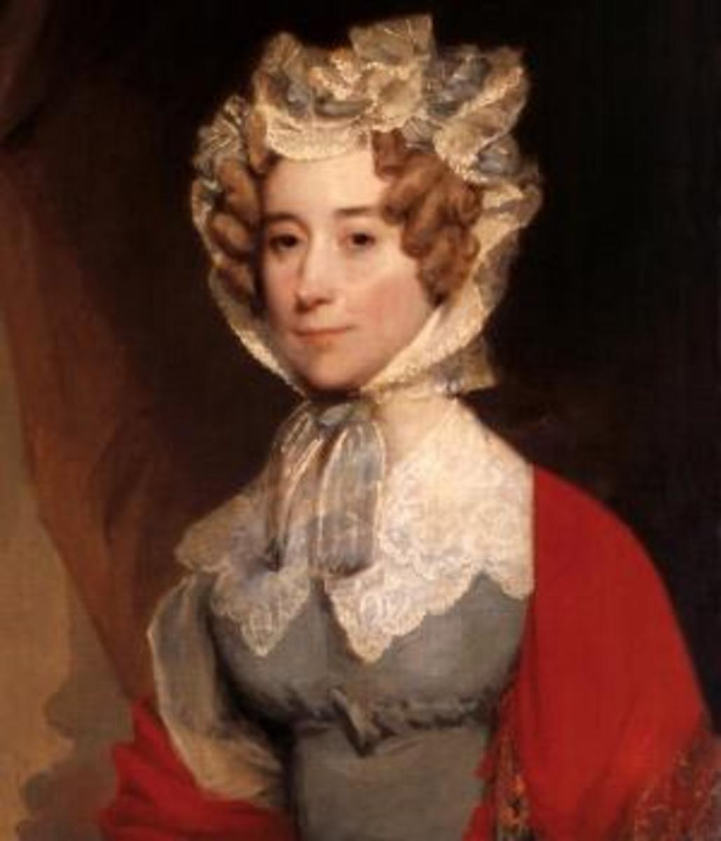 Gilbert Stuart portrait of Louisa Adams.