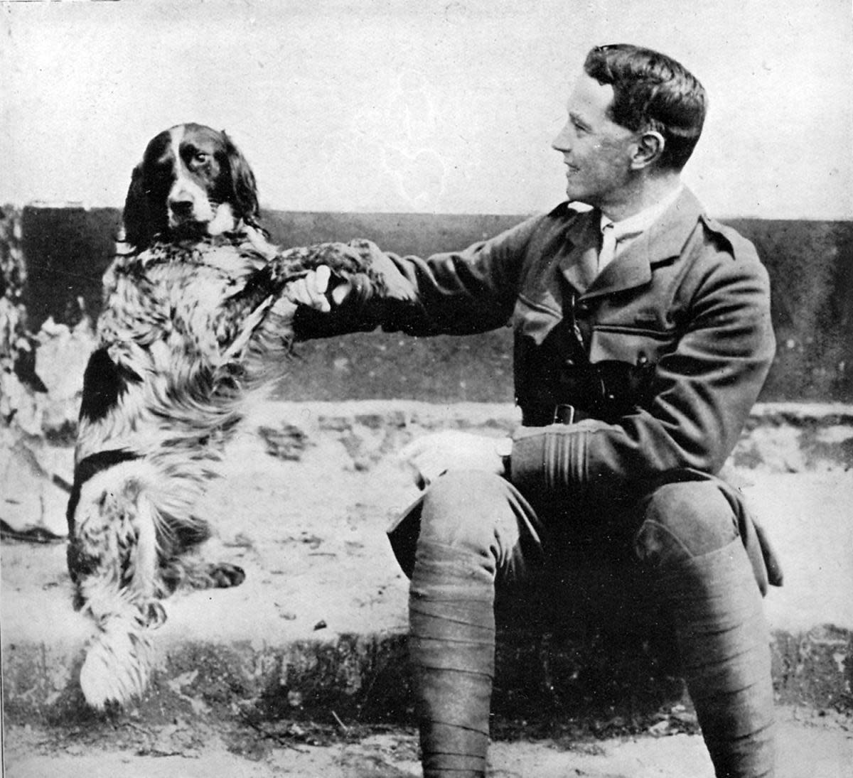 Poet John McCrae. (Credit: Culture Club/Getty Images)