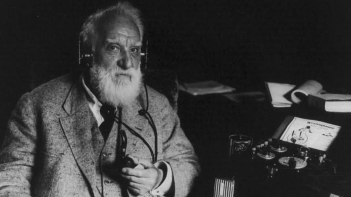 Alexander Graham Bell later in life
