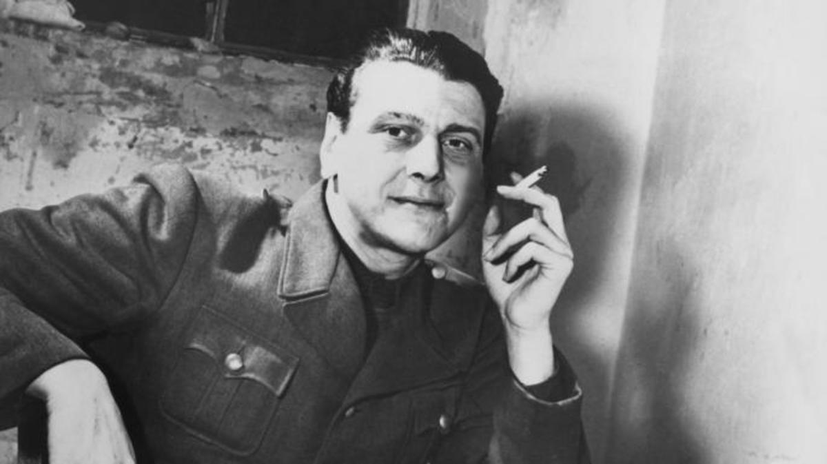 Otto Skorzeny in his jail cell, 1948. (Credit: Gamma-Keystone/Getty Images)