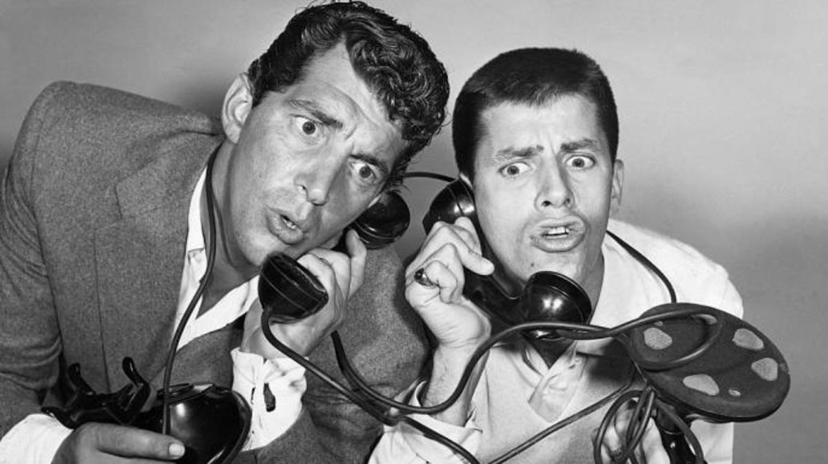 Dean Martin and Jerry Lewis (Credit: John Springer Collection/CORBIS/Corbis via Getty Images)