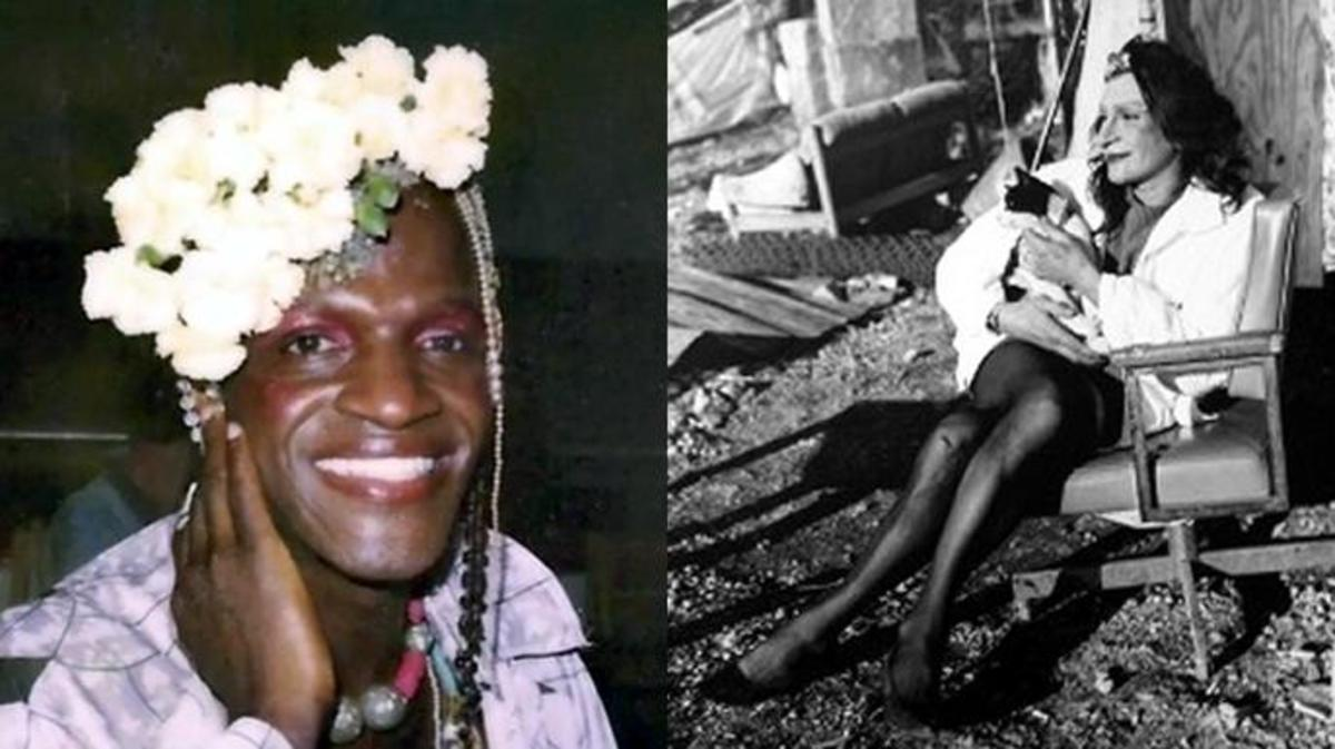 Marsha P. Johnson (left). (Credit: Pay It No Mind). Sylvia Rivera (right). (Credit: Valerie Shaff)