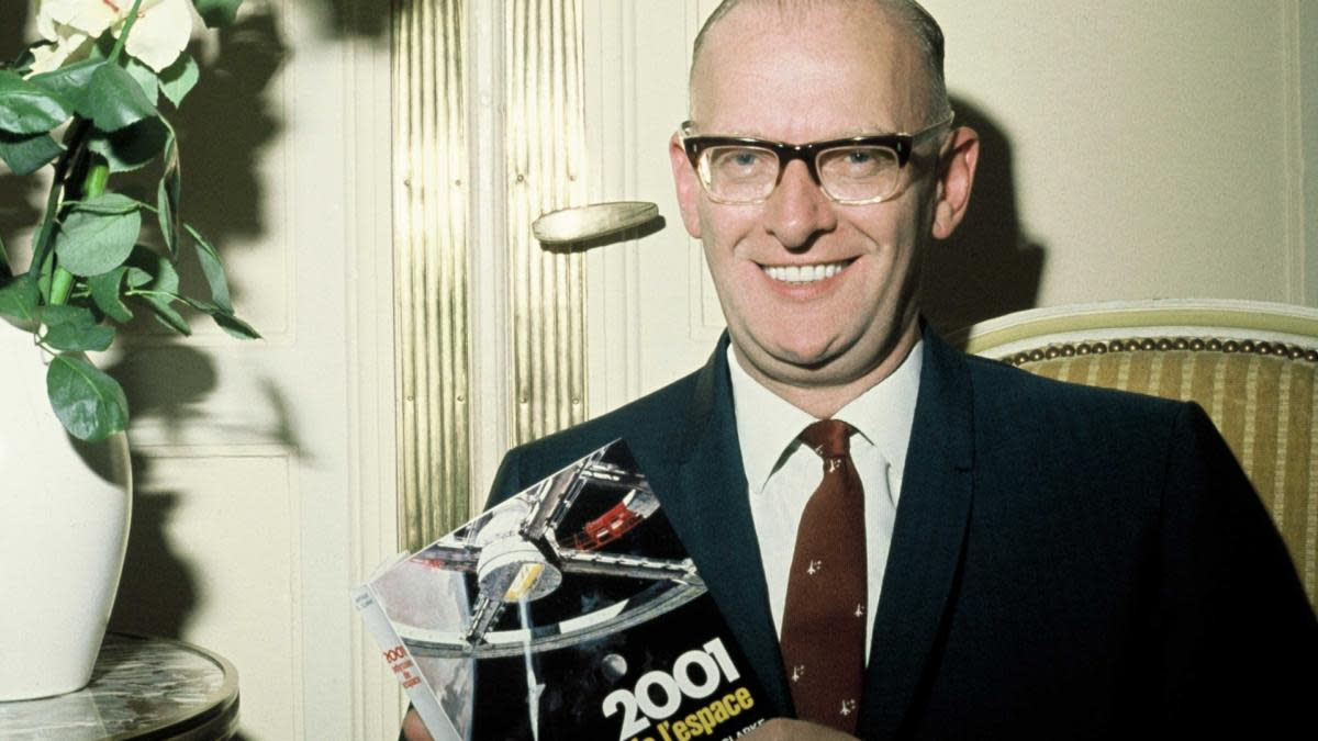 Arthur Clarke, author of  '2001: A Space Odyssey.' (Credit: Sipa/AP Photo)
