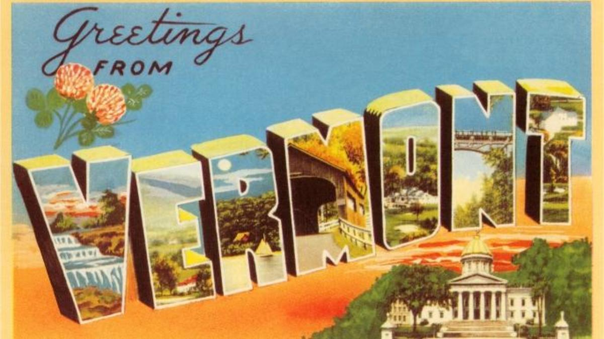 Greetings from Vermont (Credit: Found Image Holdings Inc/Getty Images)