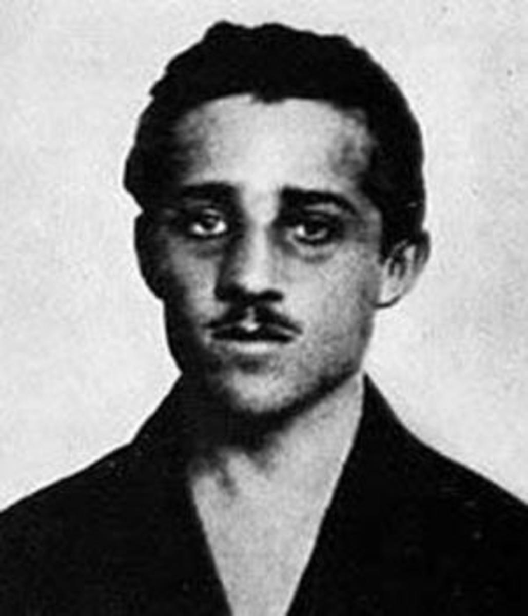 Princip taken into custody after shooting Archduke Franz Ferdinand his wife Sophie