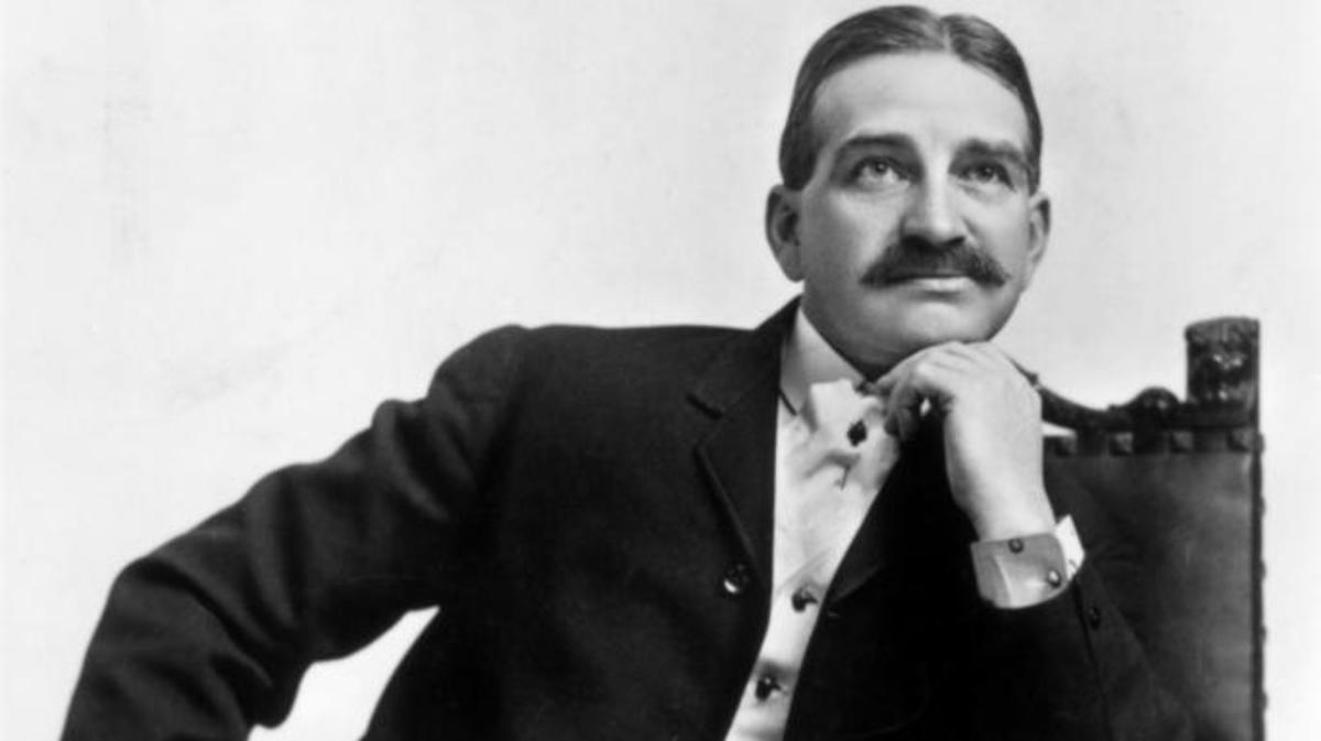 L. Frank Baum, 1910. (Credit: Interim Archives/Getty Images)