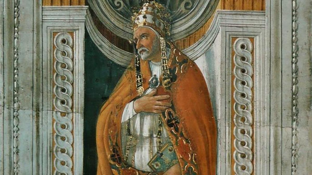 ixtus II portrait from the Sistine Chapel.