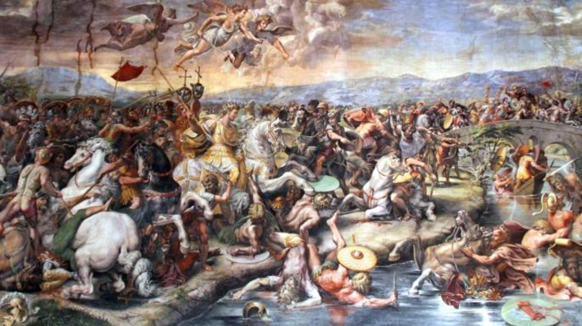 Battle of Milvian Bridge.
