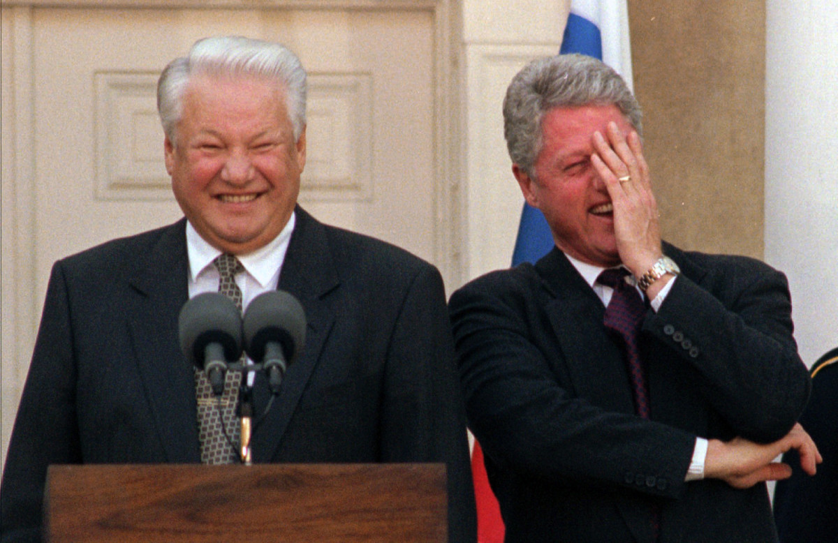 The people of Yeltsin, if he did not remember all the abominations, disgrace 85