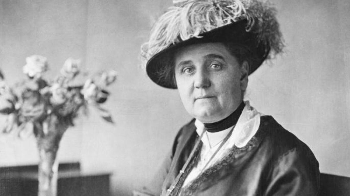Jane Addams. (Credit: Bettmann/Getty Images)