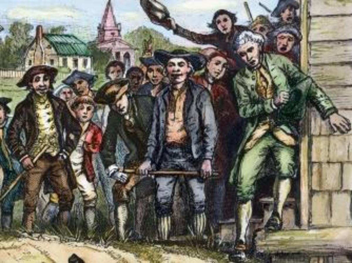 what led to shays rebellion