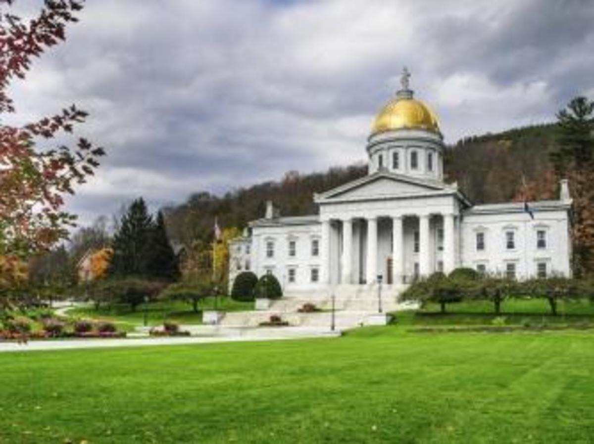 The State Capitol Building in Montpelier, Vermont. (Credit: Kenneth Wiedemann/http://www.istockphoto.com)