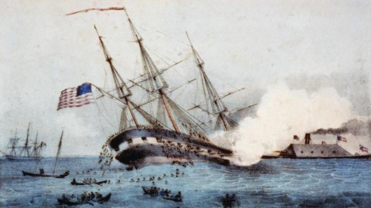 ironclad ships during the civil war