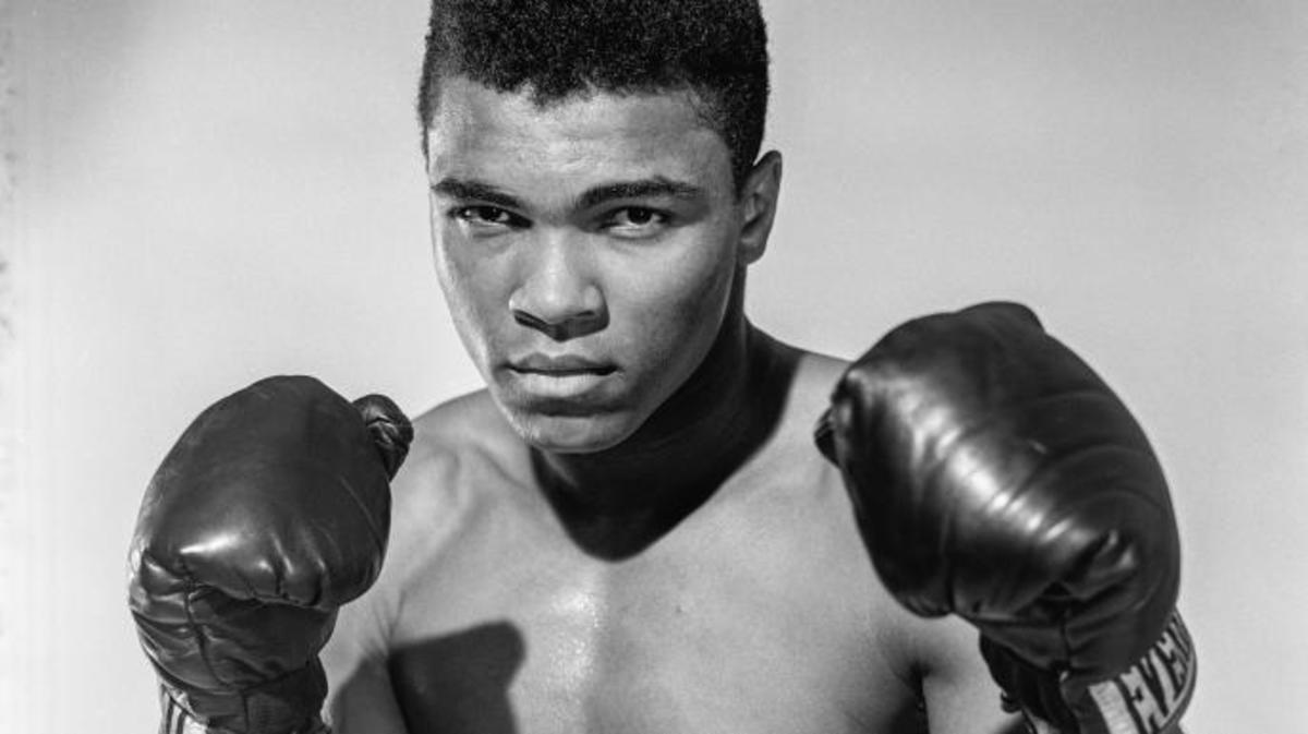 A 20-year-old Muhammad Ali (then known as Cassius Clay) in 1962. (Credit: Stanley Weston/Getty Images)